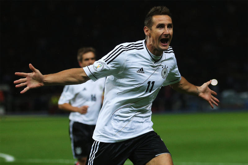 Top Scoring FIFA World Cup Scorers Football Soccer russia world cup miroslav klose germany