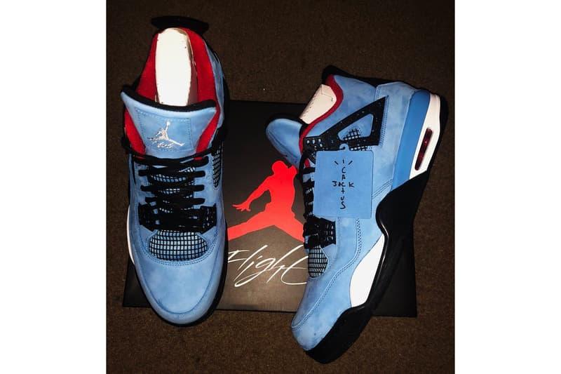 online store 661af 7ae6c Travis Scott x Air Jordan 4 Detailed Look | HYPEBEAST