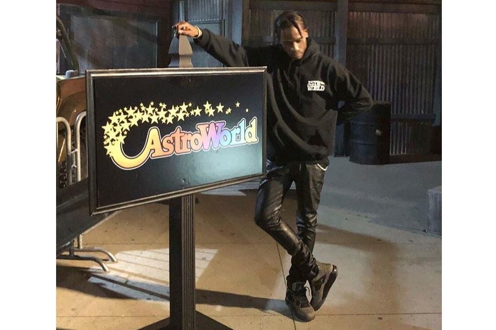 "Travis Scott Teases ""Dark Grey"" Air Jordan 4 Kylie jenner jordan brand astroworld kylie jenner"