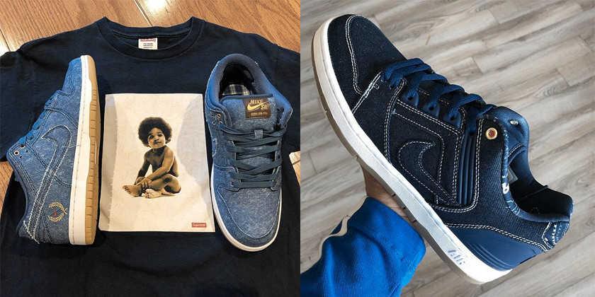 half off 1fbb7 fb288 Nike SB Biggie vs. Tupac Pack First Look | HYPEBEAST