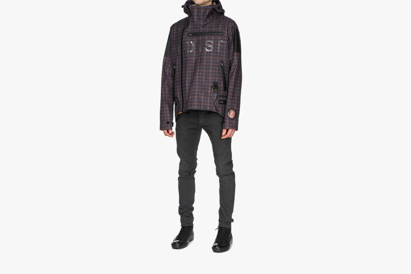 UNDERCOVER NOISE Blouson Spring Summer 2018 Outerwear UCU4202-1 noise release waterproof check purchase price