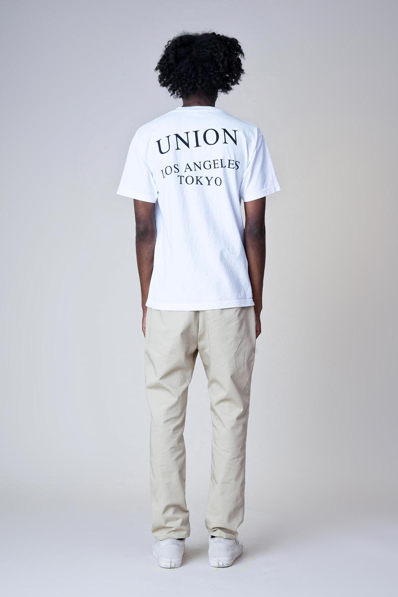 Union Kostas Seremetis Collaboration Los Angeles Tokyo lookbook hoodies shirts release info