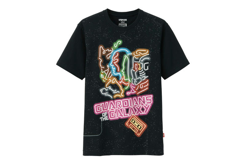 Uniqlo Marvel UT Grand Prix 2018 T-Shirt Collection Captain America Iron Man Spiderman Hulk Guardians of The Galaxy