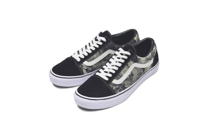 c54f9f924e Vans japan fabrics collection monalisa digital print era old skool slip on  sneaker shoe april 17