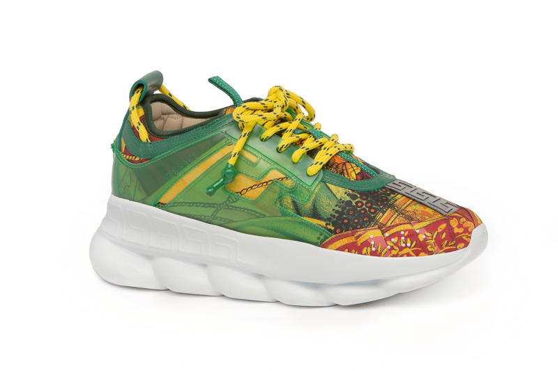 Versace Chain Reaction Release Date 2018 april footwear 2 Chainz GOAT app