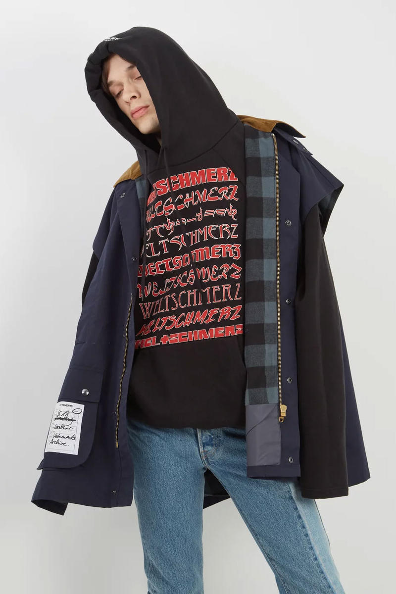 Vetements Contrast Collar Reversible Vest spring summer 2018 release date info drop