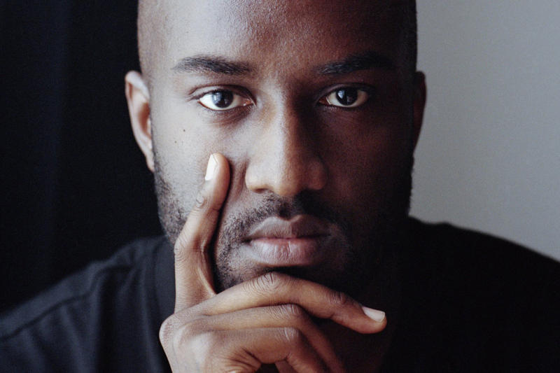 Louis Vuitton Virgil Abloh Portrait HYPEBEAST
