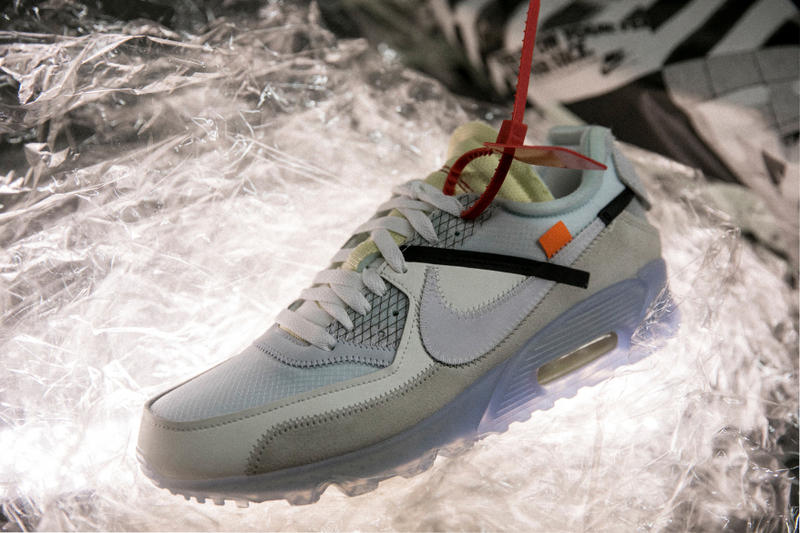 hot sale online a84fe 728af Virgil Abloh x Nike Air Max 90