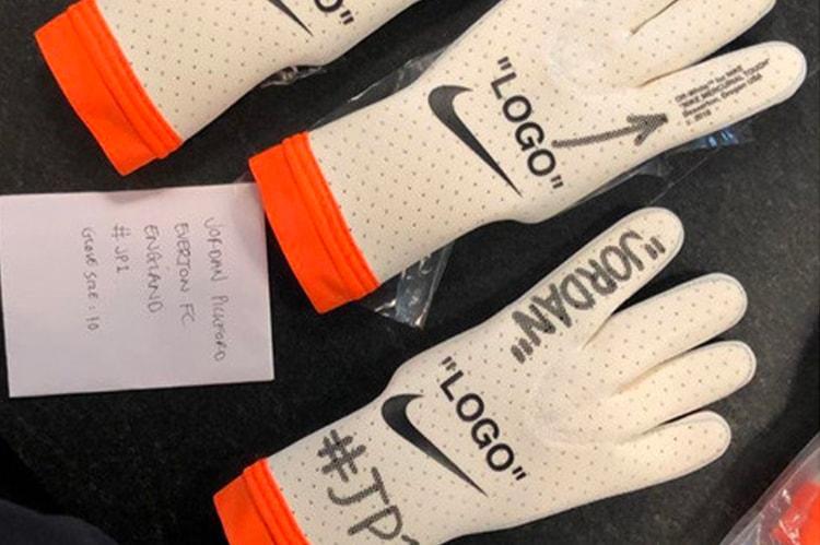 719b8cd9c0c8 Virgil Abloh Creates Custom Off-White™ x Nike Goalkeeper Gloves