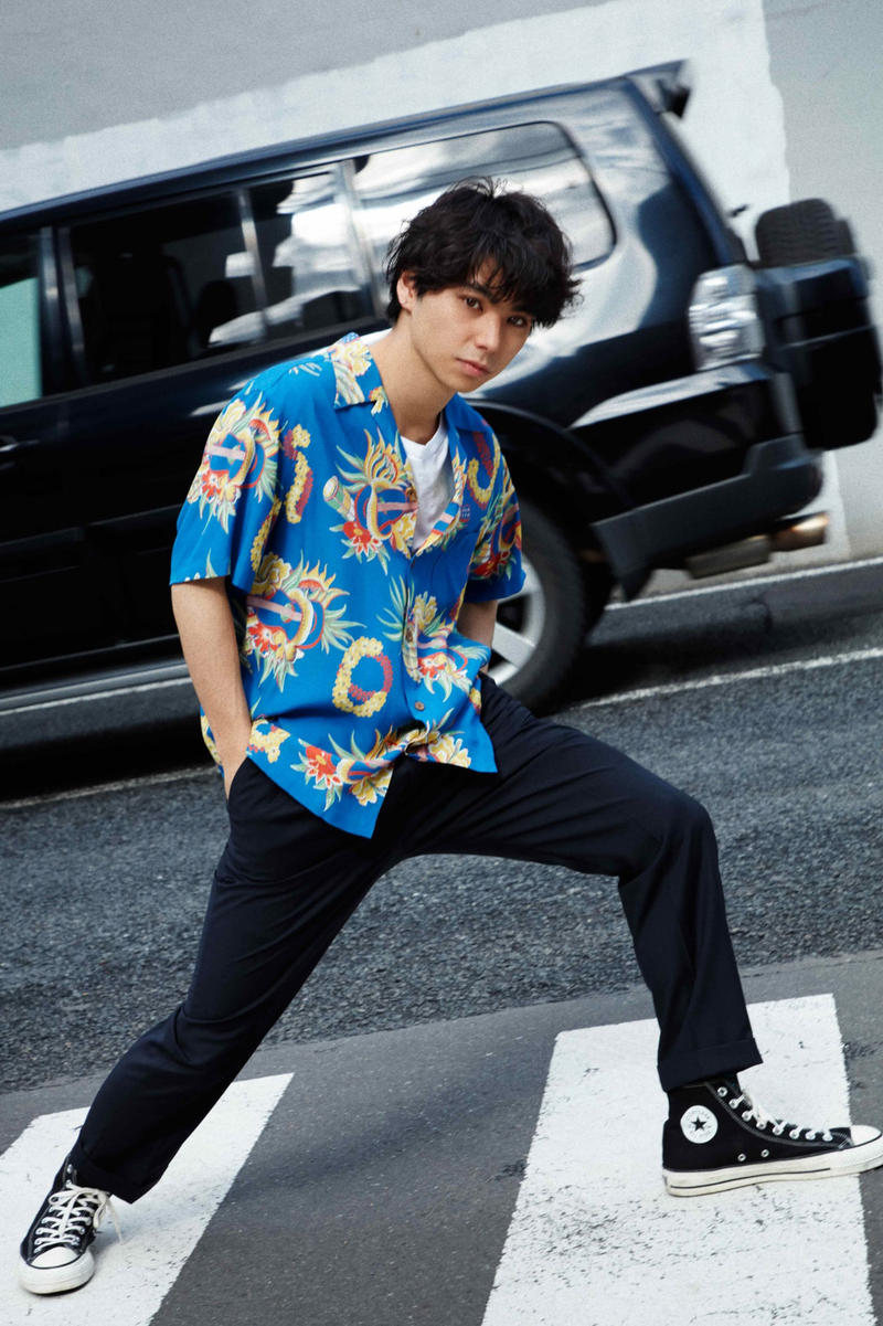 GRIND Magazine Volume 82 WACKO MARIA Spring Summer 2018 Editorial Feature Kozuka Yosuke Matsuda Shota Nikaido Fumi Murakami Ririro
