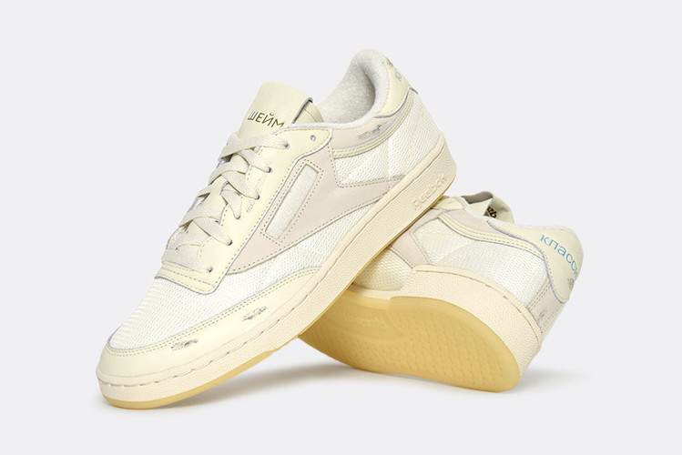 56ba2312818 Walk of Shame Puts Its Spin on the Reebok Club C 85