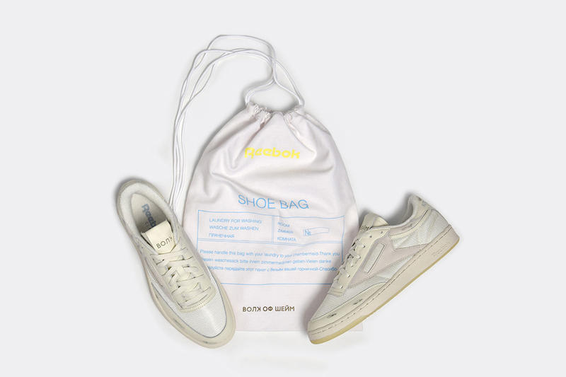 Walk of Shame Reebok Club C 85 2018 april release date info drop sneakers shoes footwear Andrey Artyomov moscow