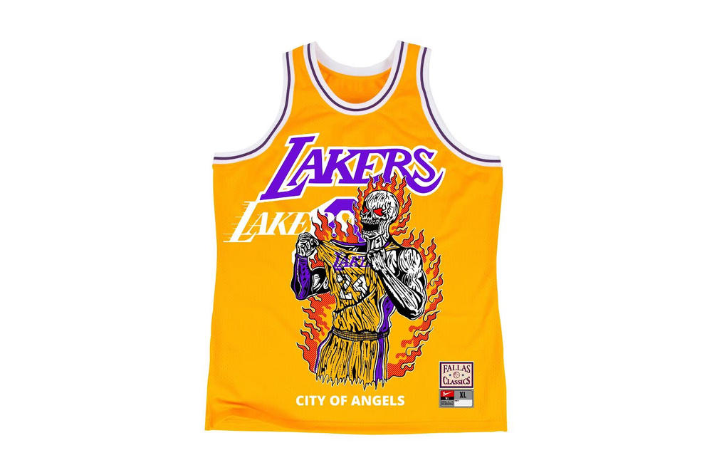 Warren Lotas Los Angeles Lakers basketball jersey april 2018 release date info drop kobe bryant city of angels
