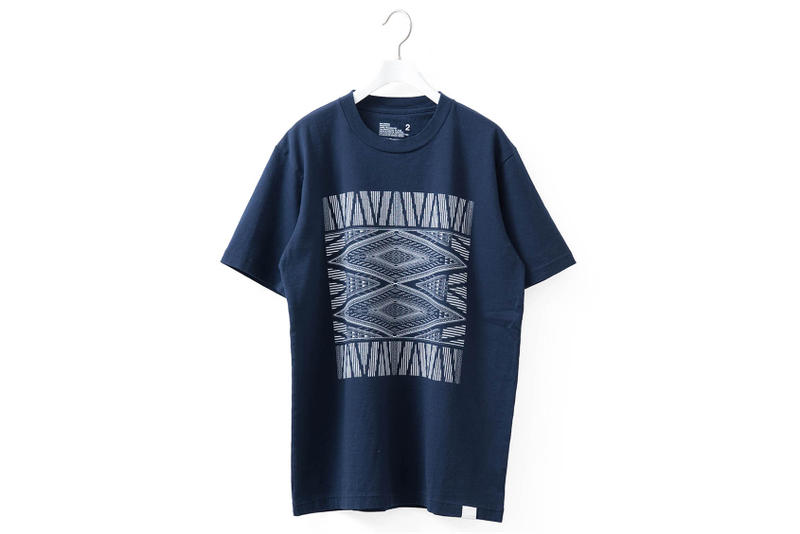 White Mountaineering Bandana Logo T-shirt Tee Graphic Print Spring/Summer 2018 web store online show buy now release details available Tokyo Japan