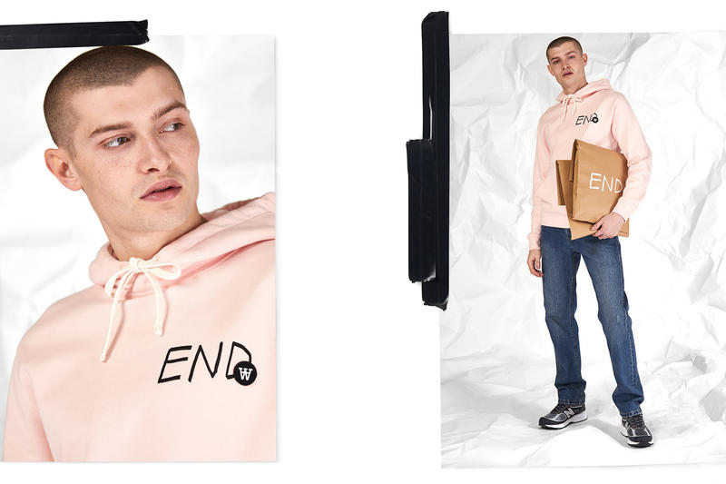 Wood Wood END Double A Basics Staples Every Day Hoodie Sweatshirt T-shirt Release Details Information How to Buy Cop Purchase