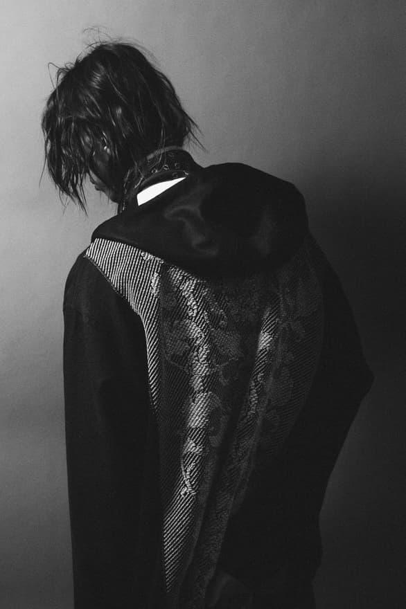 WRAPINKNOT Fall/Winter 2018 Lookbook Knitwear Umeda Knit Heritage Japan Tokyo Luxury Menswear