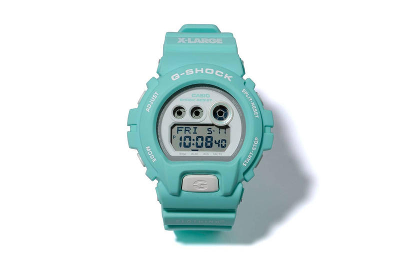 XLARGE Casio G SHOCK DW 6900 watch may 3 2018 release date info drop