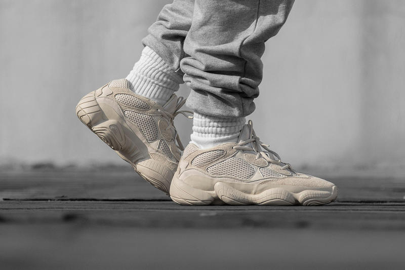 """YEEZY Desert Rat 500 """"Blush"""" Colorway Raffle For Sale Availability Prices Kanye West Sneakers Yeezy Original 360 Tennis Shoes adidas 500"""