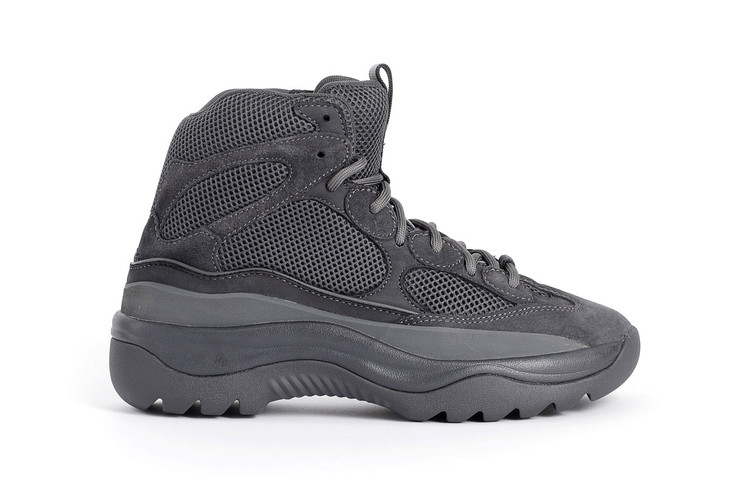 "fe41f7e89dd6 YEEZY Season 6 Desert Rat Boot In ""Graphite Suede"" Now up for Grabs"