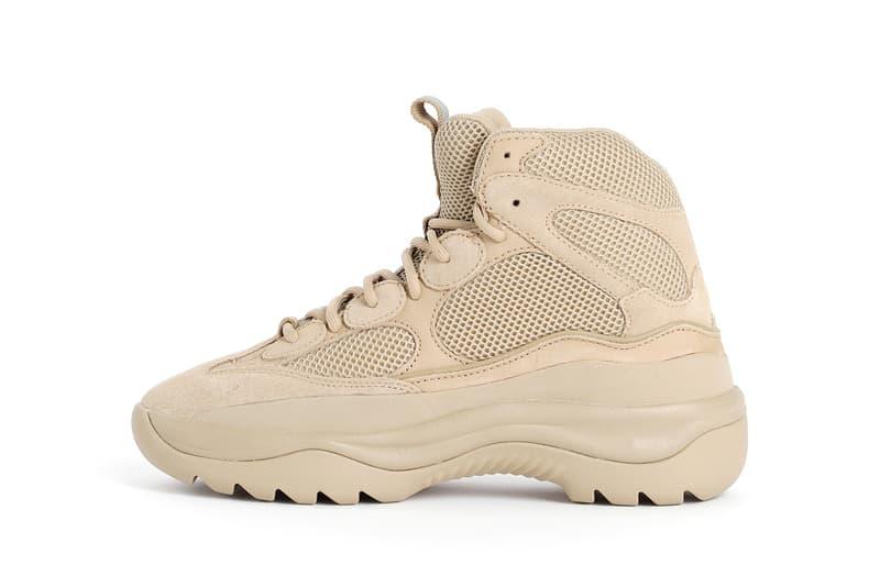 9efbcef55 YEEZY Season 6 Desert Rat Boot Taupe Release Kanye West