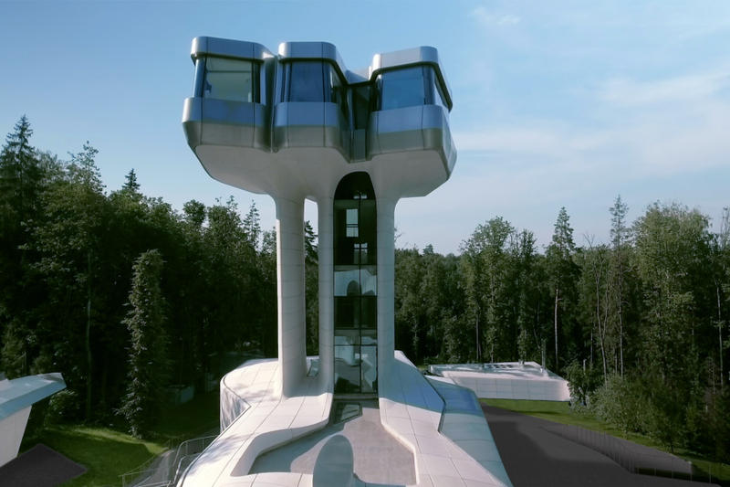 zaha hadid architects capital hill residence moscow architecture design vladislav doronin
