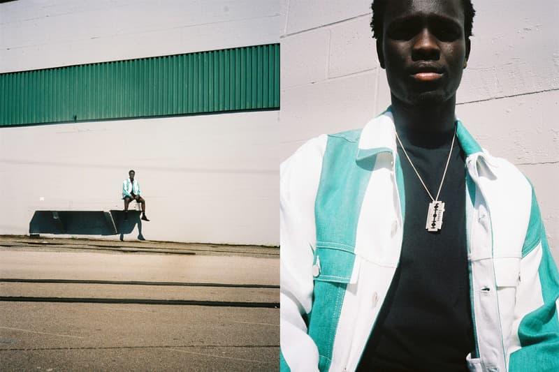 /017 Études Spring Summer 2018 Editorial Denim Jacket T shirt Jeans Trousers Pants Silk Luisa Gagliardi Pin