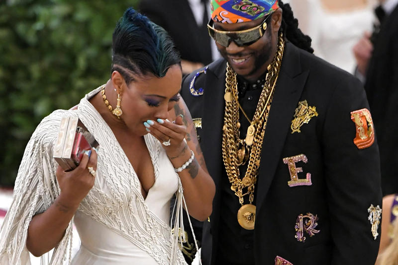 2 Chainz Nakesha Ward Met Gala 2018 Elon Musk Grimes Red Carpet Proposal Watch Stream Best Dressed Outfits Guests Attendees Theme Attire Dresses