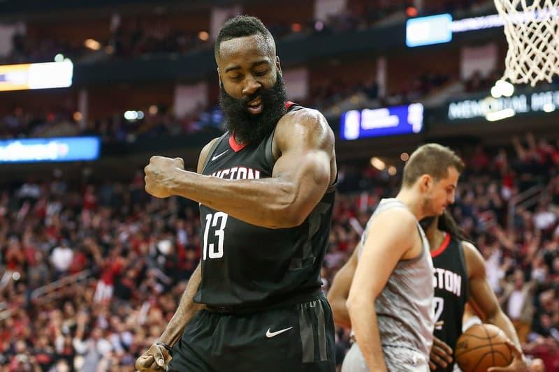 James Harden Huston Rockets 2018 NBA Awards