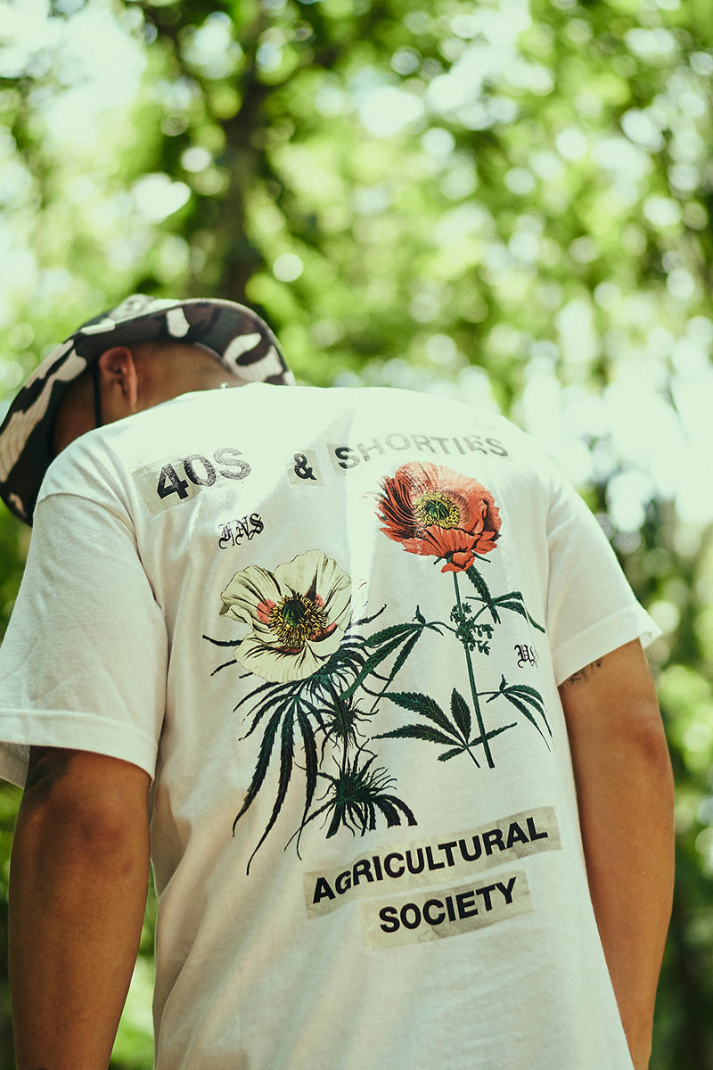 40s & Shorties Summer 2018 Collection Lookbook shyne belize release info shirts shorts pullovers waist bags