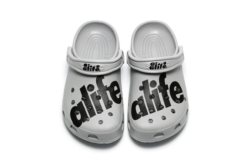 Alife crocs art sport classic athletic sock collaboration jibbitz new york landmarks june 14 2018 rebranding rivington club mule shoe sandal release date info drop closer look official clog