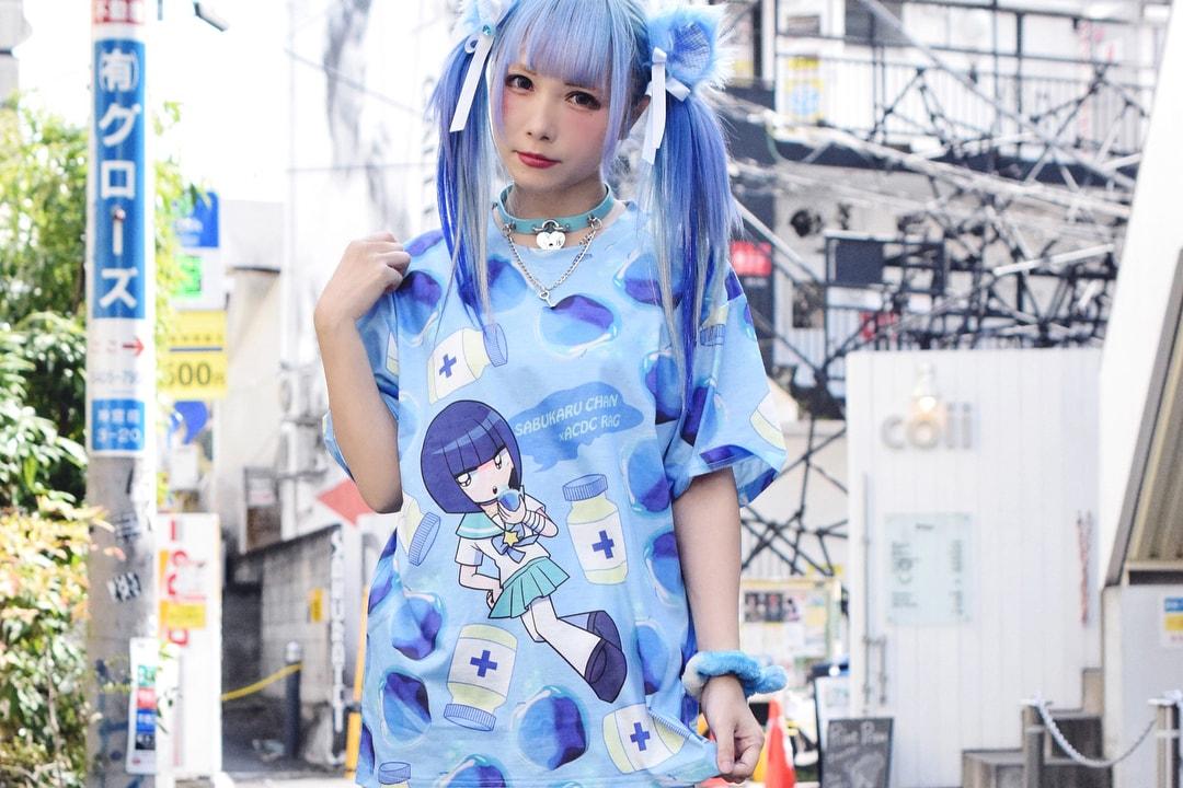 Guro lolita Yami Kawaii Subculture Fashion japan harajuku menhera mental health style fashion suehiro maruo mori chack junji ito trend horror manga tokyo