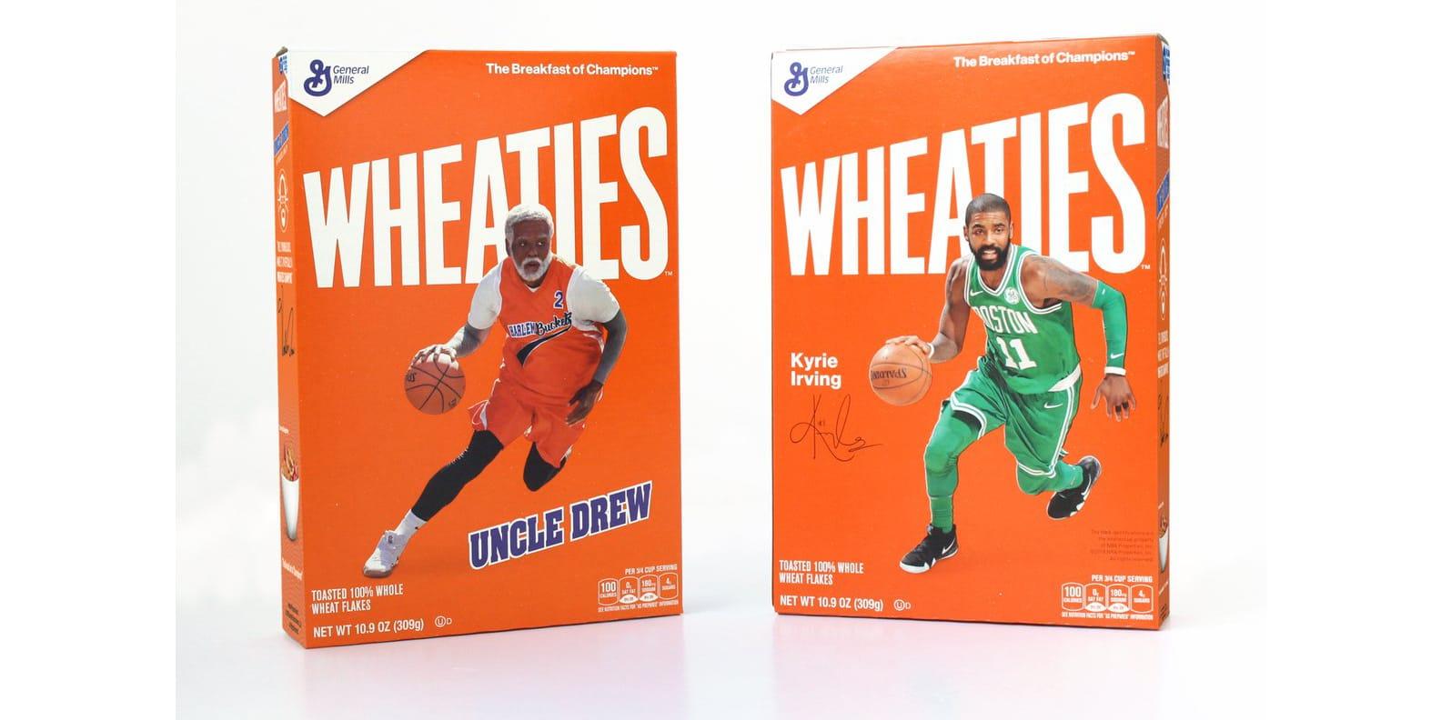 kyrie 4 uncle drew wheaties