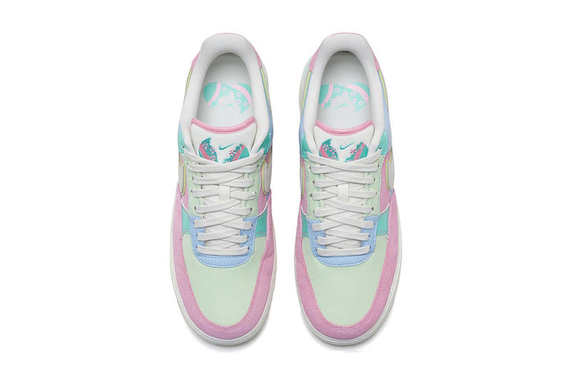 Nike Air Force 1 Low QS Easter release info Ice Blue Sail Hyper Turq Barely Volt sneakers