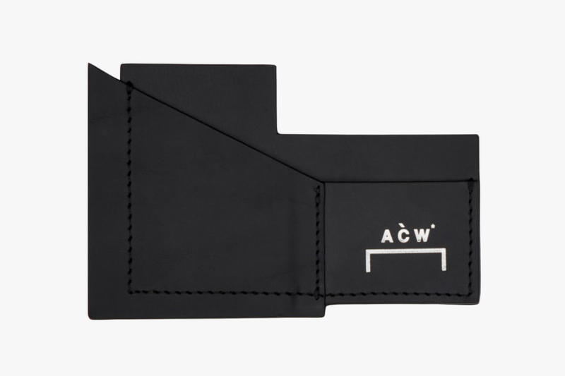 A COLD WALL 2018 Accessories may release date info drop Release STORM RESISTANT HAT LEATHER EMBOSSED CARDHOLDER EMBROIDERED SINGULAR TONE BELT TRI-POCKET CANVAS HOLSTER