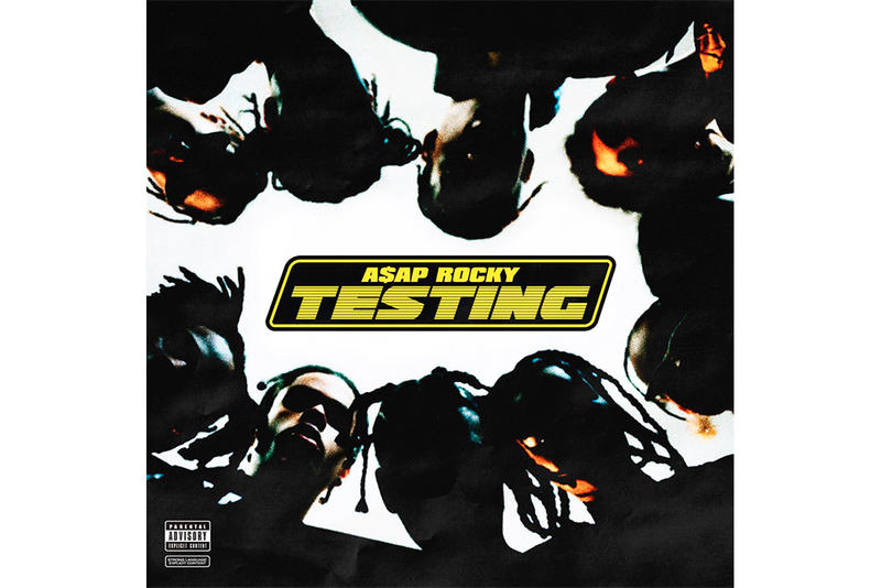 A$AP Rocky Testing Album Cover Art Features AWGE Kid Cudi Skepta Moby