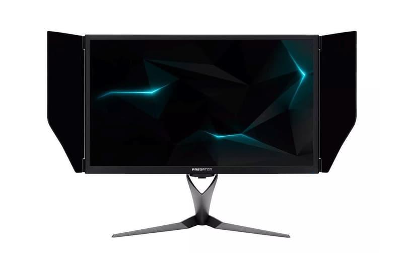 Acer Predator X27 4K Gaming Monitor screen video games technology