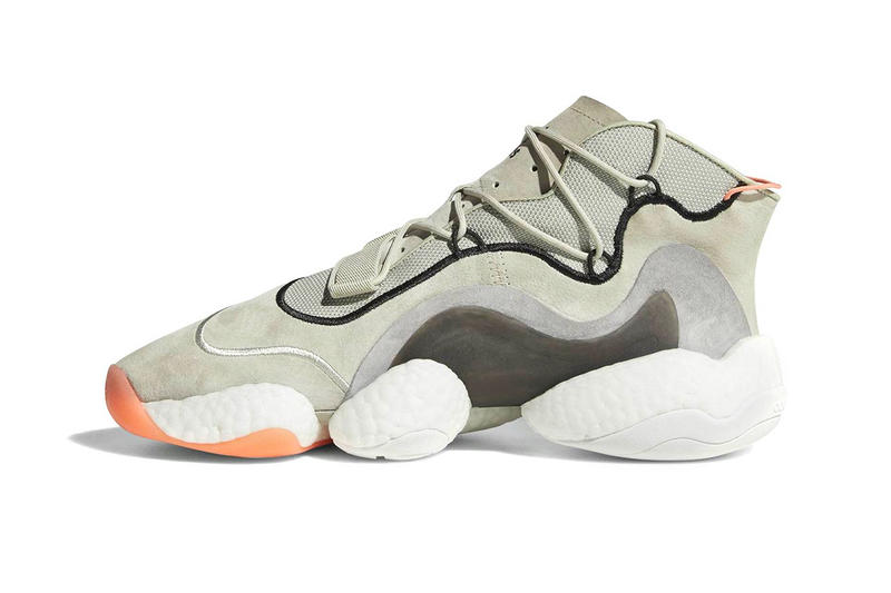 adidas Crazy BYW Light Khaki sneakers footwear baskteball
