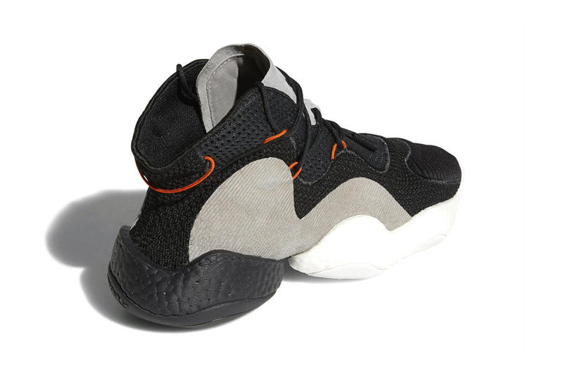 adidas Crazy BYW Carbon core black orange hi res red Release Date 2018 may footwear