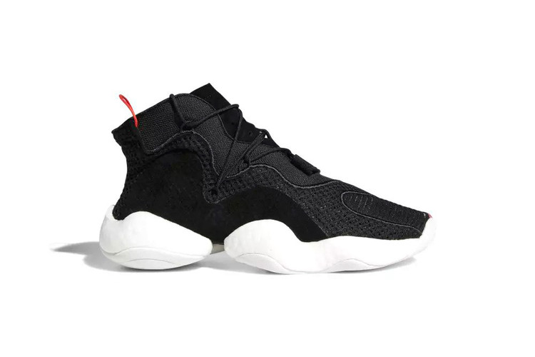 f845d1c6ce681 This Two-Tone adidas Crazy BYW Gets a Subtle Touch of Bright Red. Footwear