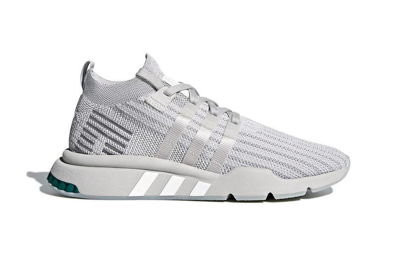 best service 0bd36 82480 adidas EQT Support Mid ADV Triple Grey release info 25 year anniversary  sneakers footwear