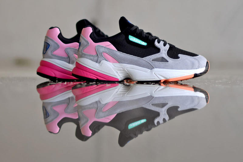 free shipping 65b9b e7176 adidas Falcon Core Black Light Granite june 2 2018 release date info drop  sneakers shoes footwear