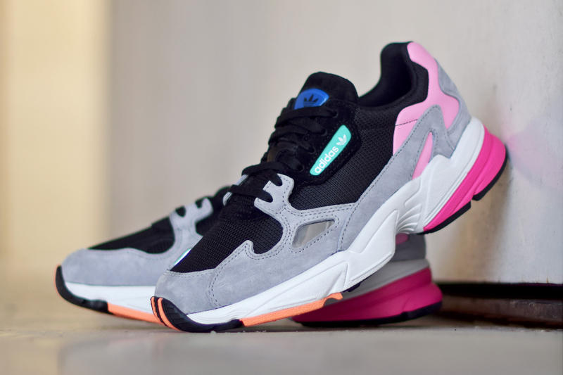 adidas Falcon Core Black Light Granite june 2 2018 release date info drop sneakers shoes footwear