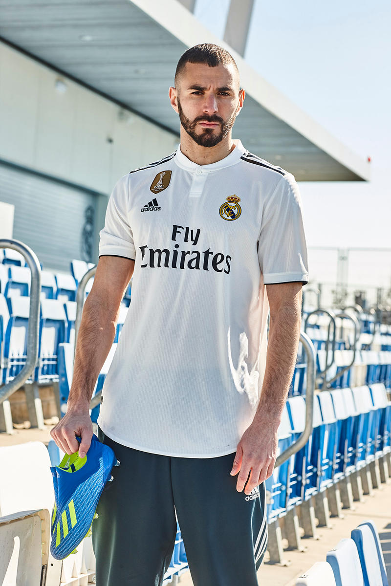 sports shoes d203f 6ae1d Real Madrid Home & Away Kits for 2018/2019 | HYPEBEAST