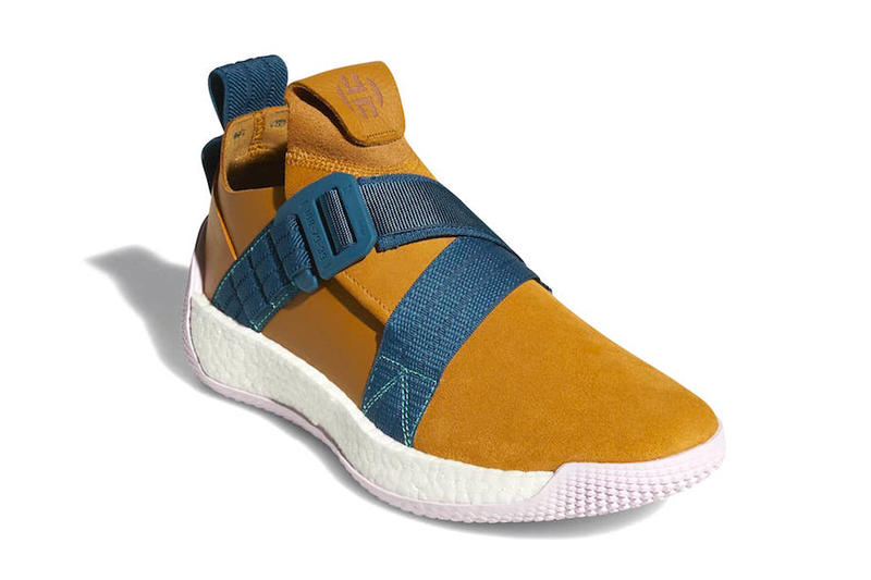 adidas Harden LS 2 Buckle black white tan blue release info sneakers footwear james harden