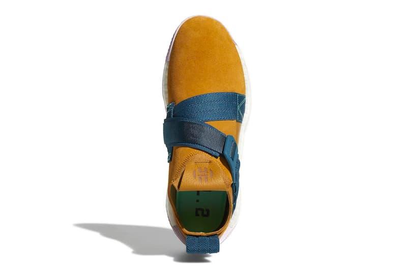 adidas Harden LS 2 Buckle black white tan blue release info sneakers footwear james harden