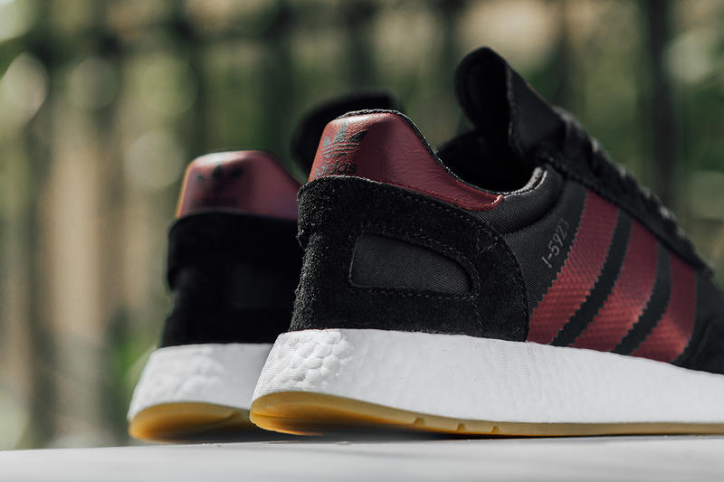 adidas I-5923 Black Collegiate Burgundy release info sneakers footwear iniki runner