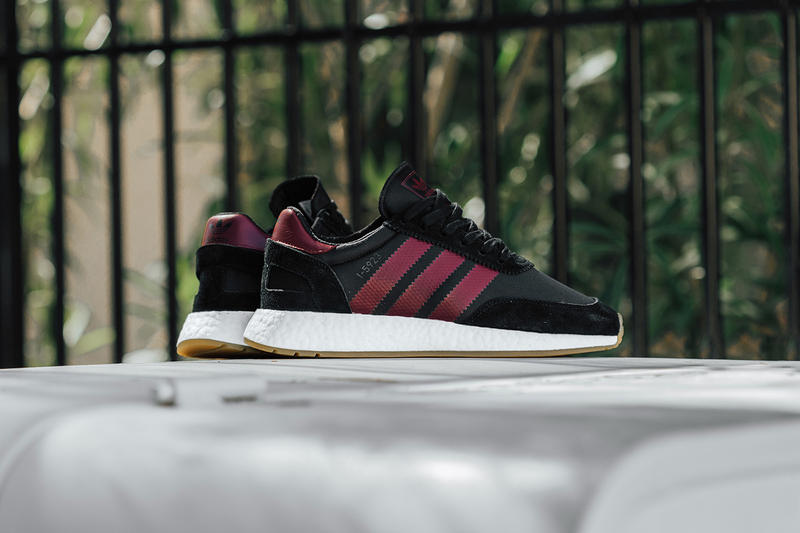 the best attitude 1ba53 6f136 adidas I-5923 Black Collegiate Burgundy release info sneakers footwear  iniki runner