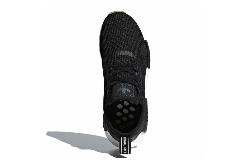 7da02f10c2723 adidas NMD R1 Gum Sole Pack black grey white release info sneakers footwear