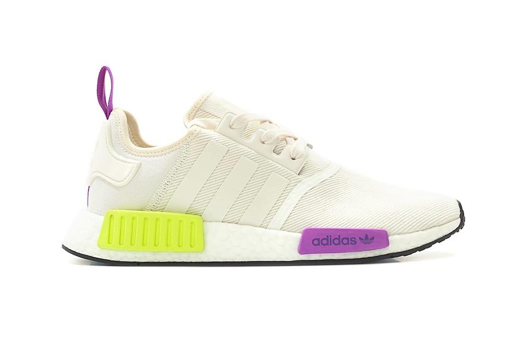 """adidas NMD R1 """"Chalk White/Semi Solar"""