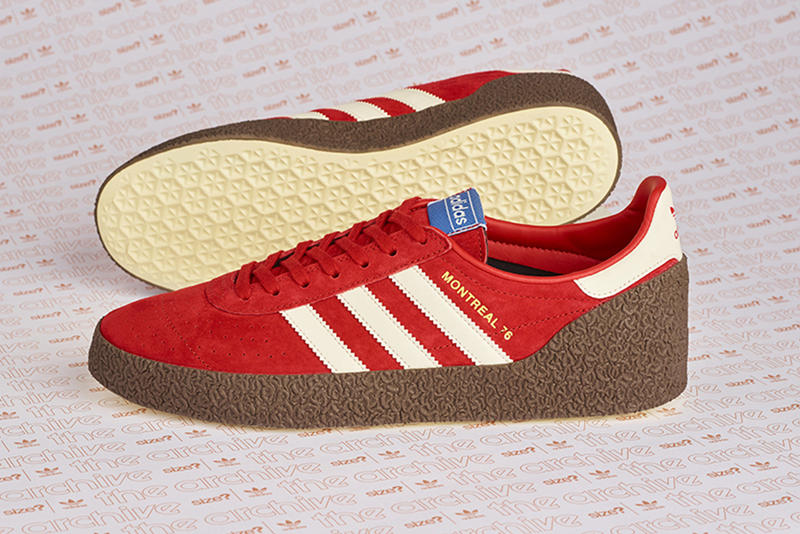 uk availability 5e8a1 49196 adidas Originals Archive Montreal 76 Size Exclusive Release Details Kicks  Shoes Trainers Sneakers